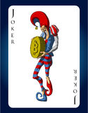 Vektor bitcoin Spassvogelkarte Stockfotos
