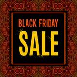 Vektor-Black Friday-Verkaufsaufschrift Vektor Abbildung