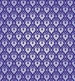 Vektor-Blatt-Damast-Hintergrund-Muster Stockfoto