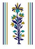 Vektor-Blumen-Blumenstrauß-Verzierung lizenzfreie abbildung