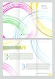Vektor-Broschüren-Schablone Lizenzfreie Stockbilder