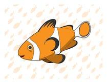 Vektor Clownfish Lizenzfreies Stockfoto