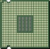 Vektor-CPU-Chip lizenzfreie abbildung