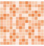 Vektor deckt Mosaikhintergrund mit Ziegeln Stockbild
