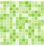 Vektor deckt Mosaikhintergrund mit Ziegeln Lizenzfreie Stockfotografie