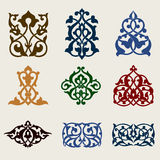 Vektor der dekorativen Auslegung Lizenzfreies Stockfoto