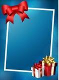 Vektor der frohen Weihnachten Lizenzfreies Stockfoto