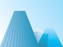 Vektor der Gebäude Stockfotos