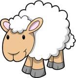 Vektor der glücklichen Schafe Lizenzfreie Stockfotografie
