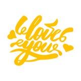 Vektor der Liebe Glückliches Valentinsgruß-Tageszeichen Lizenzfreies Stockfoto
