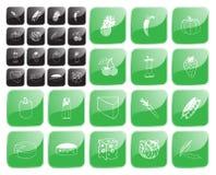 Vektor der Nahrung symbol1 Stockfotos