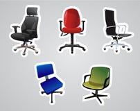 Vektor der Stühle Stockfotografie
