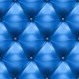 Vektor des blauen Polsterungsleder-Musterhintergrundes lizenzfreie abbildung