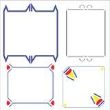 Vektor des dekorativen Rahmens Lizenzfreies Stockfoto