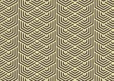Vektor des geomatric Musterhintergrundes Stockbild