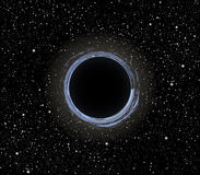 Vektor des schwarzen Lochs Stockfotos