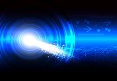 Vektor des Technologiezusammenfassungshintergrundes Lizenzfreies Stockbild