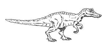 Vektor - Dinosaurier Lizenzfreies Stockfoto