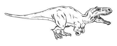 Vektor - Dinosaurier Lizenzfreie Stockfotos