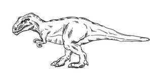 Vektor - Dinosaurier Stockfoto