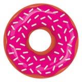 Vektor-Donut stock abbildung
