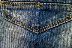 Vektor eps10 Del av jeans Royaltyfria Bilder