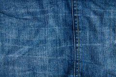 Vektor eps10 Del av jeans Royaltyfri Bild