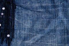 Vektor eps10 Teil Blue Jeans Lizenzfreies Stockfoto