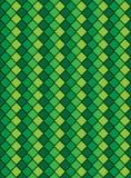 Vektor Eps8, grünes verändertes Diamant-Muster Lizenzfreie Stockbilder