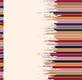 Vektor färgad randig bakgrund för text vektor illustrationer