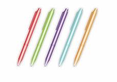 Vektor färgade pennor Arkivbilder