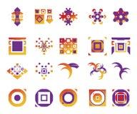 vektor för 11 elementsymboler Royaltyfri Bild