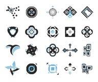 vektor för 15 elementsymboler Royaltyfria Foton