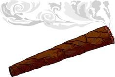 vektor för 2 cigarr Royaltyfri Foto