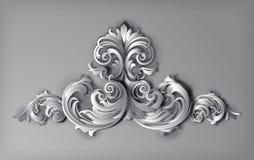 vektor för 3d Florals Arkivbild