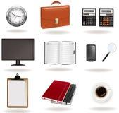 vektor för affärskontorstillförsel stock illustrationer