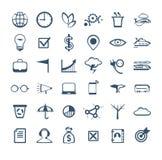 vektor för affärssymbolsfolk Ledning personalresurser, marknadsföring Arkivfoton