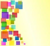 vektor för bakgrundsaffärsmall Arkivbilder