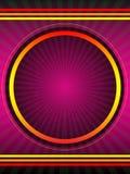vektor för bakgrundsaffischpurple Royaltyfri Foto