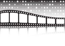 vektor för bakgrundsfilmrulle Royaltyfri Bild