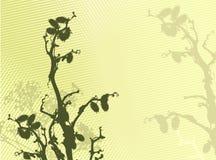 vektor för bakgrundsgrässilhouette royaltyfri illustrationer