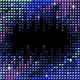 vektor för bakgrundsmosaikrhinestone Arkivfoton