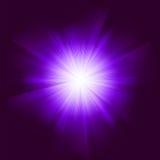 vektor för bakgrundssignalljuslins Arkivfoton