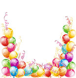 vektor för ballongdesignillustration Royaltyfri Fotografi