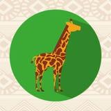 vektor för bild för hieroglyphics för afrikansk djurarkitekturkultur egyptisk royaltyfri illustrationer