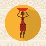 vektor för bild för hieroglyphics för afrikansk djurarkitekturkultur egyptisk stock illustrationer