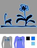 vektor för bildskjorta t Royaltyfri Illustrationer