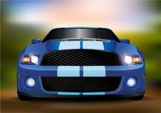vektor för bilingreppssportar Arkivbilder