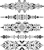 vektor för blomma för hörndesignelement Royaltyfri Bild