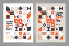 Vektor för broschyrdesignmall royaltyfri illustrationer
